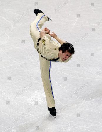 Ryan Bradley Ryan Bradley performs during the men's short program in the U.S. Figure Skating Championships in Greensboro, N.C