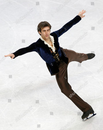 Ryan Bradley Ryan Bradley performs during the men's free skate program in the U.S. Figure Skating Championships in Greensboro, N.C