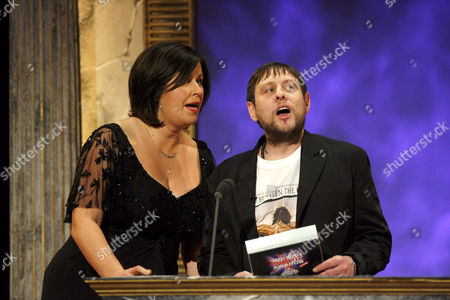 Liza Tarbuck and Shaun Ryder