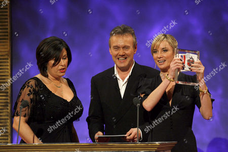 Liza Tarbuck, Anthony Head and Tamzin Outhwaite