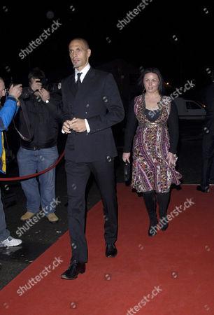 Rio Ferdinand and Rebecca Ellison
