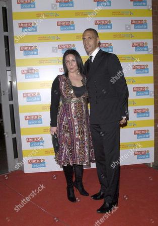 Rebecca Ellison and Rio Ferdinand