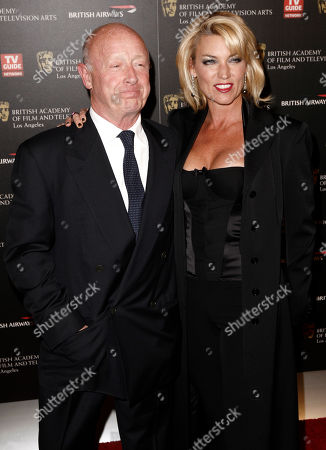 Tony Scott, Donna Scott Director Tony Scott, left, and Donna Scott arrive at the 18th Annual BAFTA Los Angeles Britannia Awards in Los Angeles on