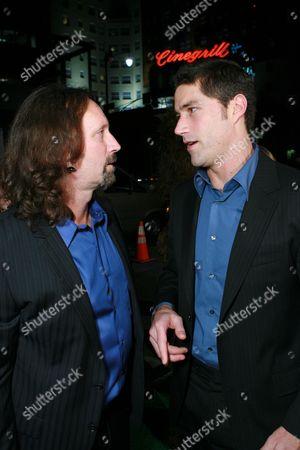 Producer Scott Mednick and Matthew Fox