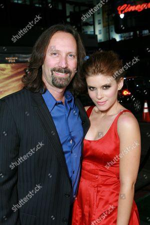Producer Scott Mednick and Kate Mara