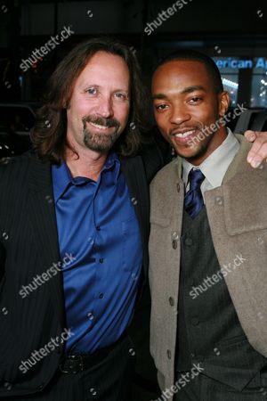 Producer Scott Mednick and Anthony Mackie