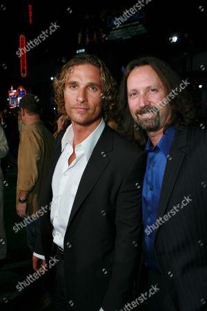 Matthew McConaughey and Producer Scott Mednick