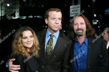 Drew Barrymore, Director McG and Producer Scott Mednick