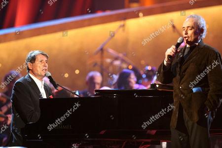 Udo Jurgens und Jose Carreras