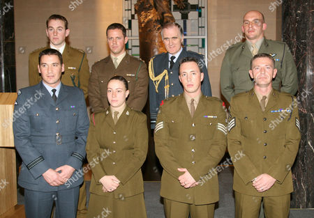 Editorial picture of The Operational Honours Awards Ceremony at the Ministry of Defence in London, Britain - 14 Dec 2006