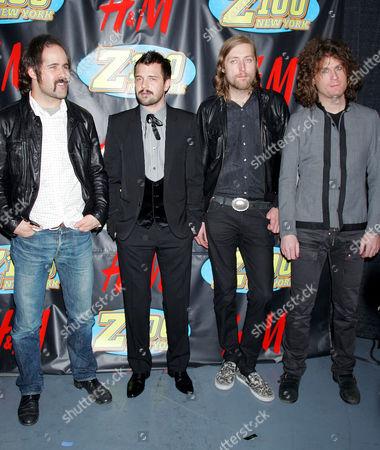 The Killers - Drummer Ronnie Vannucci, singer Brandon Flowers, bass player Mark Stoermer, guitarist David Keuning