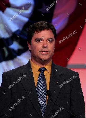 Dan Barber Libertarian candidate for lieutenant governor Dan Barber speaks during a debate, in Atlanta