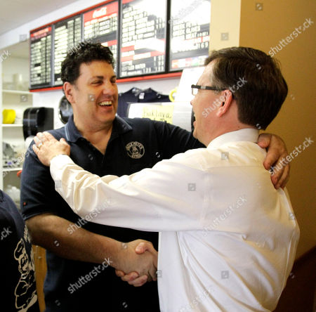 Bobby Schilling Rep.-elect Bobby Schilling, R-Ill., right, is hugged by fellow restaurant owner Chris Panouses, in Moline, Ill. Schilling, a pizzeria owner with 10 kids, is a tea partier who knocked off an established Democrat in a district that has gone Democrat, even liberal Democrat, for years