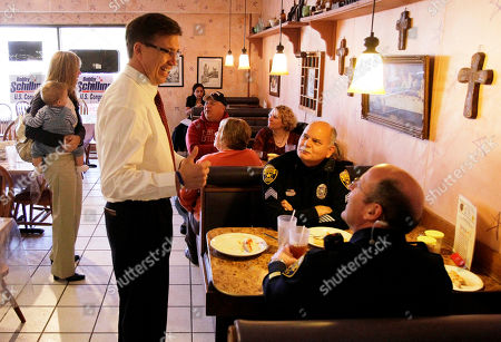 Editorial photo of Illinois Tea Party Upset, Moline, USA