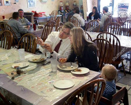 Editorial picture of Illinois Tea Party Upset, Moline, USA