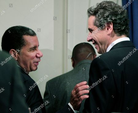 David Paterson, Andrew Cuomo Currrent New York Governor David Paterson, left, and governor-elect Andrew Cuomo chat after a news conference following a private meeting at Paterson's offices in New York