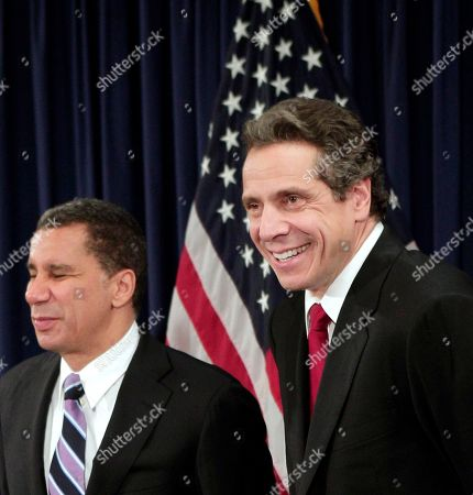 David Paterson, Andrew Cuomo Currrent New York Governor David Paterson, left, and governor-elect Andrew Cuomo laugh during a news conference following a private meeting at Paterson's offices in New York