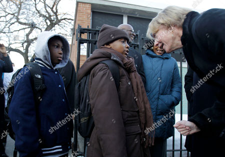Cathie Black New York City Schools Chancellor Cathie Black, right, greets students as they enter P.S. 262 in Brooklyn on her first day as chancellor in New York