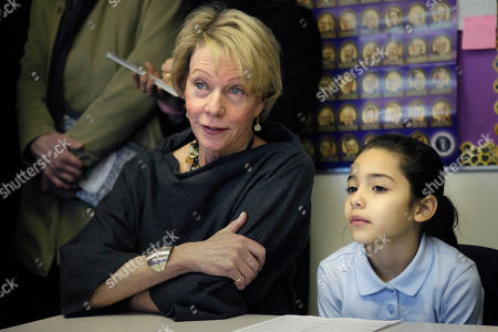 Cathie Black New York City Schools Chancellor Cathie Black, left, with student Aliyah Perez, 9, in her classroom at P.S. 262 in New York. Six weeks after the former media executive assumed the post of New York City Schools Chancellor, Black's approval rating at 21 percent, according to a recent poll. Opponents continue to keep a legal fight alive to block her appointment as schools chancellor because she has no experience as an educator