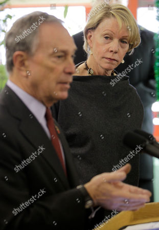 Cathie Black, Michael Bloomberg New York City Schools Chancellor Cathie Black, right, watches as Mayor Michael Bloomberg speaks to the media during a news conference in P.S. 262 in Brooklyn on her first day as chancellor in New York