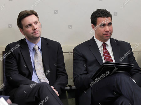 Bill Burton, Josh Earnest Deputy Press Secretary Bill Burton, right, and Deputy Press Secretary Josh Earnest, left, listen as Press Secretary Robert Gibbs reveals his decision to step down soon, during a news briefing at the White House in Washington