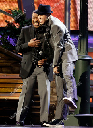"Ben E. King, Prince Royce Ben E. King, left, and Prince Royce perform ""Stand By Me"" at the 11th Annual Latin Grammy Awards in Las Vegas. King, singer of such classics as ""Stand By Me,"" ""There Goes My Baby"" and ""Spanish Harlem,"" died, publicist Phil Brown told The Associated Press. He was 76"