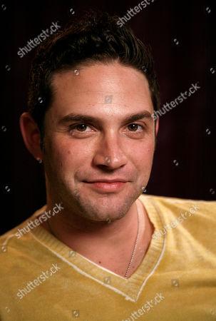 Brandon Barash Actor Brandon Barash poses for a portrait in New York