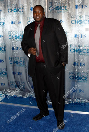 Quinton Aaron Quinton Aaron arrives at the People's Choice Awards, in Los Angeles
