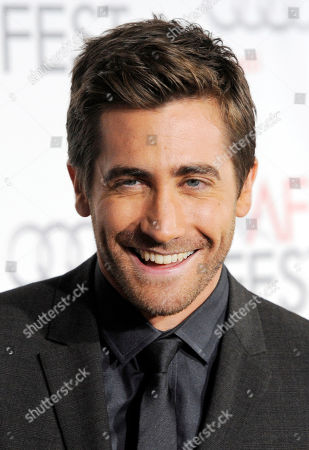 """Stock Photo of Jake Gyllenhaal Jake Gyllenhaal poses at the premiere of the film """"Love & Other Drugs"""" on the opening night of American Film Institute's AFI Fest 2010 in Los Angeles. In one of her final roles Jill Clayburgh plays the mom of charismatic Viagra salesman Jamie Reidy (Jake Gyllenhaal) in the romantic comedy """"Love and Other Drugs"""