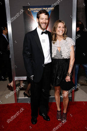 """Aron Ralston, Jessica Trusty Author Aron Ralston, left, and Jessica Trusty arrive at the premiere of """"127 Hours"""" in Beverly Hills, Calif. on . Ralston's story is the inspiration for the film"""