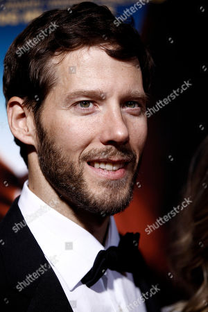 """Aron Ralston Aron Ralston arrives at the premiere of """"127 Hours"""" in Beverly Hills, Calif. on"""