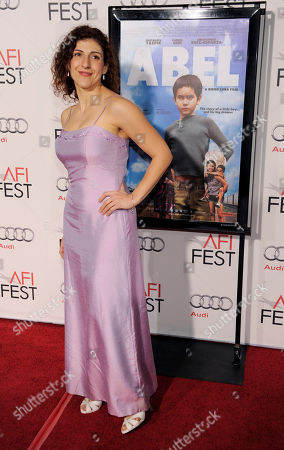 """Karina Gidi Mexican actress Karina Gidi, a cast member in """"Abel,"""" poses at the premiere of the film at American Film Institute's AFI Fest 2010 in Los Angeles"""