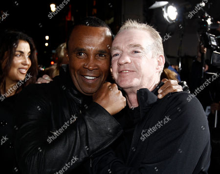 "Sugar Ray Leonard, Dicky Eklund Boxer Sugar Ray Leonard, left, and Dicky Eklund pose together at the premiere of ""The Fighter"" in Los Angeles on"
