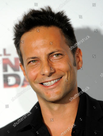 """Stock Picture of Allan Steele Allan Steele, a cast member in """"The Next Three Days,"""" poses at a screening of the film in Los Angeles"""