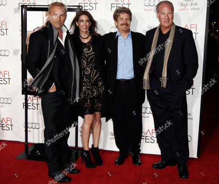"Kevin Costner, Claire Rudnick Polstein, John Wells, Craig T. Nelson From left, cast member Kevin Costner, producer Claire Rudnick Polstein, director John Wells, center, and cast member Craig T. Nelson pose together at a screening of ""The Company Men"" during American Film Institute's Fest 2010 in Los Angeles on"