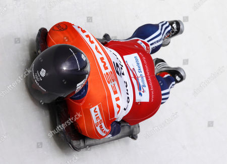 Kristan Bromley Great Britain's Kristan Bromley competes in the first heat of the men's skeleton World Cup in Lake Placid, N.Y
