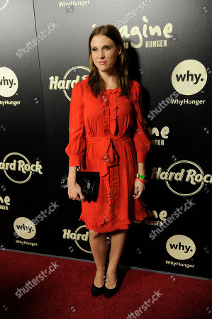 "Lucy Walsh Lucy Walsh arrives at ""Imagine There's No Hunger: Celebrating the Songs of John Lennon,"", in Los Angeles"