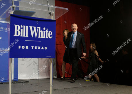 Bill White Texas Democratic gubernatorial candidate Bill White takes the stage with his wife Andrea and daughter Elena to concede the race to incumbent Rick Perry in Houston
