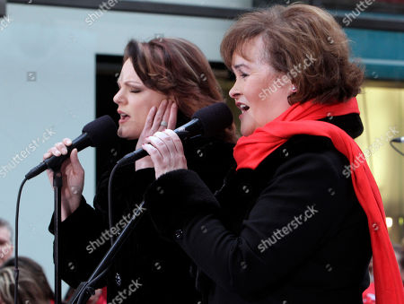 Editorial photo of Today Show Susan Boyle, New York, USA