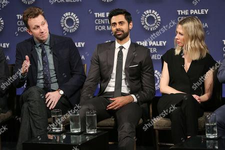 Jordan Klepper, Hasan Minhaj and Desi Lydic