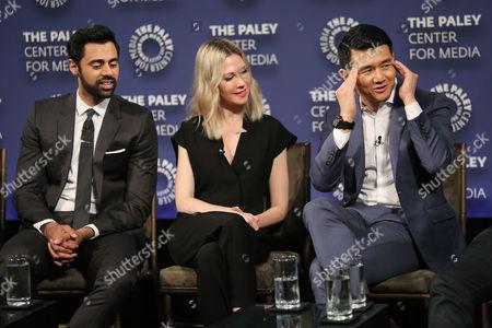 Hasan Minhaj, Desi Lydic and Ronny Chieng