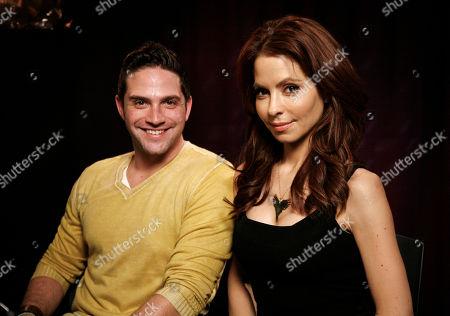 Brandon Barash, Lisa LoCicero Actors Brandon Barash and Lisa LoCicero pose for a portrait in New York