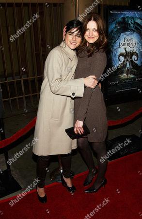 Selma Blair and Azura Skye