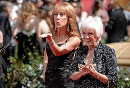 Kathy Griffin, Maggie Griffin Kathy Griffin and her mother Maggie Griffin arrive at the 62nd Primetime Emmy Awards, in Los Angeles