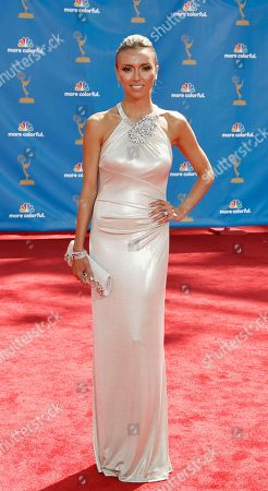 Giuliana DePandi Giuliana DePandi arrives at the 62nd Primetime Emmy Awards, in Los Angeles