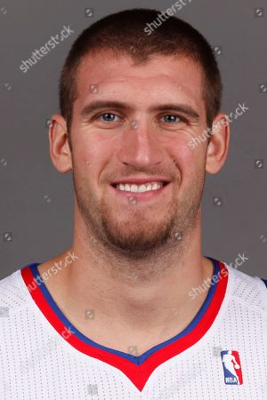 Spencer Hawes Philadelphia 76ers' Spencer Hawes poses for a portrait in Philadelphia