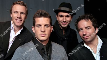 Fraser Walters, Clifton Murray, Victor Micallef, Remigio Pereira The Canadian Tenors, from left, Fraser Walters, Clifton Murray, Victor Micallef and Remigio Pereira pose for a photo in Los Angeles