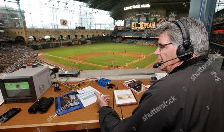Editorial photo of Cardinals Astros Baseball, Houston, USA