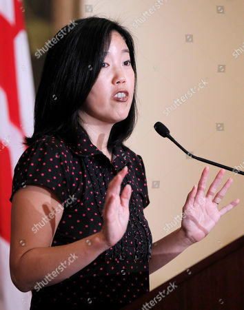 Michelle Rhee DC Schools Chancellor Michelle Rhee announces in Washington, that she is resigning