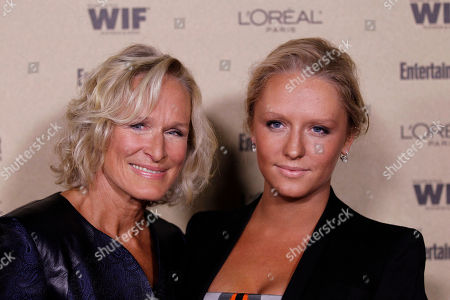 Glenn Close, Annie Stark Glenn Close, left, and Annie Stark arrives at the Entertainment Weekly and Women in Film Pre-Emmy Party in West Hollywood, Calif. on